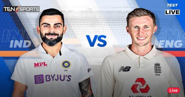 India vs England 1st Test Match Live