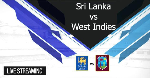 SriLanka vs West Indies Match Live