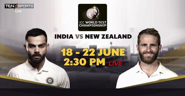 India Vs NewZealand Final Test Live